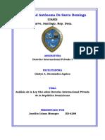 Analisis Ley 544, Joselito