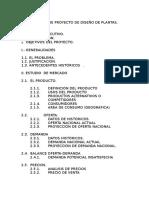 Informe de Proyecto de Diseño de Plantas