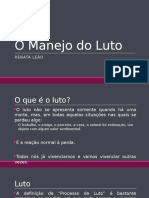 O Manejo Do Luto