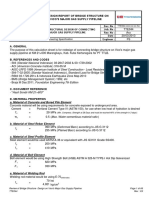 Design Modification Report of Bridge on Gas Supply Pipeline