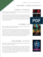 Frightfest Programme
