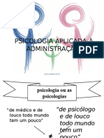 Introducao a Psicologia Administracao