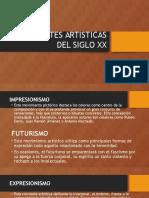 Corrientes artísticas.pptx