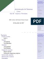 Aula06 - Introdução à Administração de Sistemas Linux
