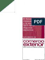 Revista Comercio Exterior - El Estado Mexicano y La Economía, 1971-1976. Algunos Aspectos