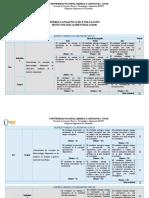 Rubrica Analitica de Evaluacion 211619 2016