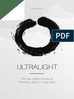 Ultralight Sample