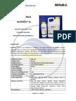 Glifosol - Herbicidas - Ficha Tecnica