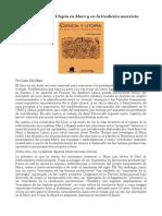 Sobre Ciencia y Utopía en Marx y en la tradición marxista