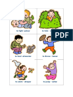 English Verbs Flashcards
