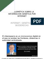 Problemática Sobre La Información Genética Por Internet