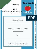 2do Grado - Bloque 1 - Matemáticas.doc