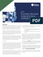 SOP El Proceso Clave Para La Ejecucion de Estrategia de Negocio Sintec