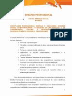Desafio Profissional - Serviço Social 8ª Série