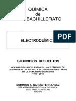 EJERCICIOS ELECTROQUÍMICA