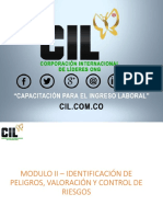 Modulo II Identificacion Peligro Valoración y Control Riesgo CIL