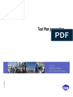 Test Plan Preparation