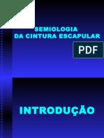 Semiologia Ortopedica - Cintura Escapular