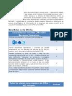 Descripcion de plan essentials Of365.docx