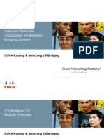 CCNA R&S 6.0 Bridging Instructor Supplemental Material Mod1 ITN