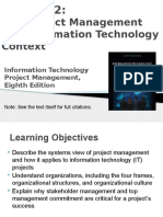 IT PROJECT MANAGEMENT-A SYSTEMS APPROACH