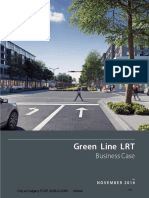 City of Calgary Green Line LRT business case report, November 2016