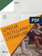 Catálogo 2016 Lengua Castellana y Literatura
