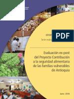 EVALUACIÓN EXPOST