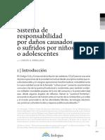 Sistema de Responsabilidad Por Daños Causados Por Niños