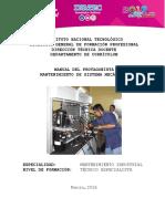 Manual de Mantenimientos a los sistemas Mecanicos