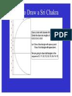 How to Draw Sri Chakra