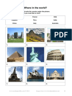Airport Vocabulary - Worksheets