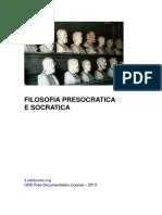 Filosofia Presocratica e Socratica