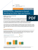 Summary Consumer Spending 20161020