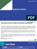 Aprobación de presidentes y líderes de América Latina 2017