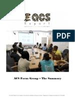 ACS Focus Group - The Summary