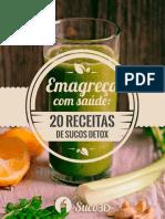 20 Receitas de Sucos Detox 08082016