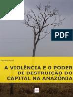 A Violência e o Poder de Destruição Do Capital Na Amazonia