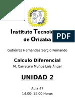 Unidad 2 Calculo Diferencial