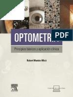 Optometria.- Principios Basicos y Aplicación Clinica