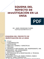 Esquema Del Proy Investigacion Unsa i