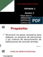 1. Estructuracion y Predimensionamiento