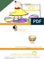 DESARROLLO COORDINACIÓN