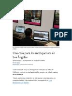 Una casa para los mexiquenses en Los Ángeles