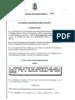 Ordm 041 Estructura Funcional Del Dmq