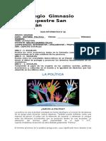 Guía Informativa- Política Noveno.