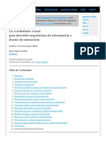 Vocabulary for Information Architecture (Spanish)