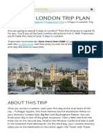 3 Days in London Trip Plan _ Sygic Travel