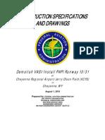 Tech Spec - DTFANM-16-R-00007 Demolish VASI & Install PAPI, Cheyenne WY (7-19-2016).pdf