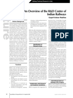 Overview of R & D